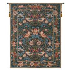 Birds Face to Face I French Tapestry