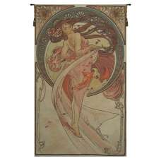 Dance by Mucha French Tapestry Wall Hanging
