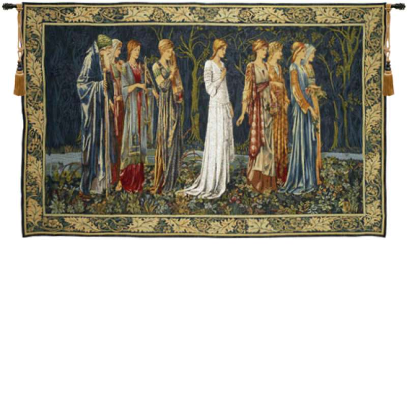 The Ceremony French Tapestry Wall Hanging
