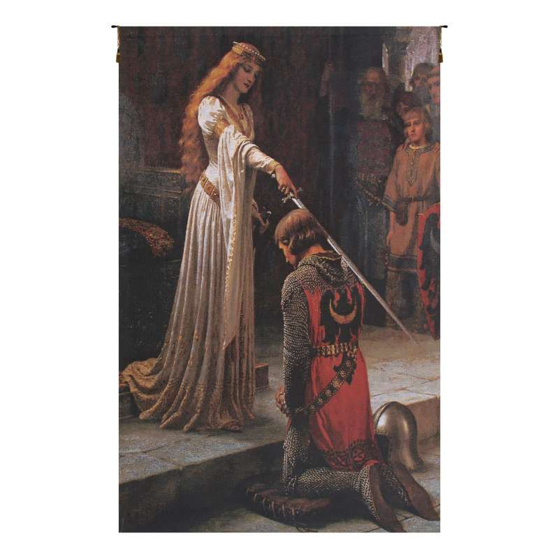 Accolade Without Border Belgian Tapestry Wall Hanging