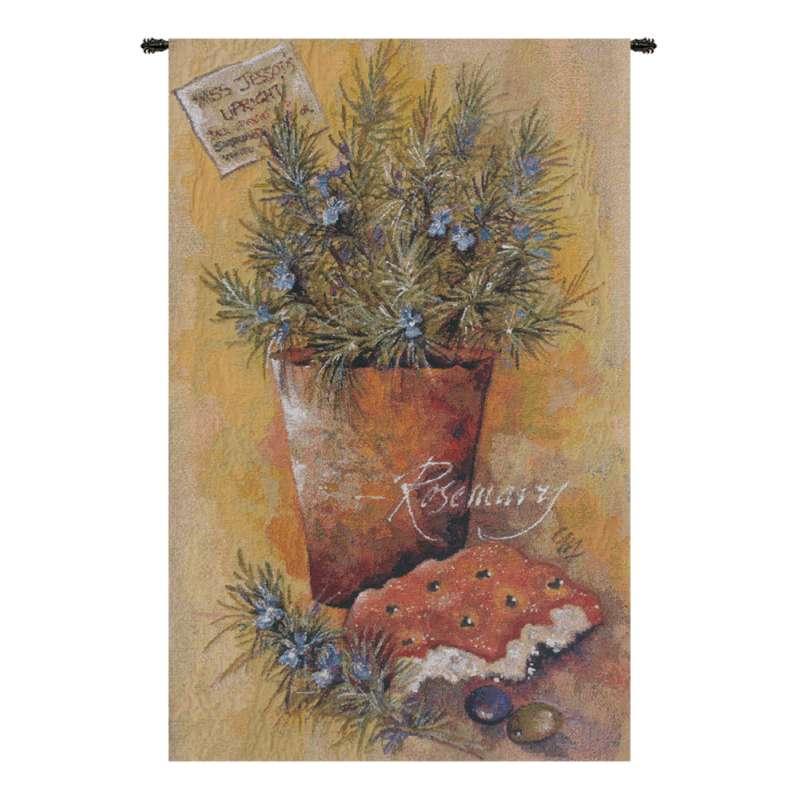 Rosemary Belgian Tapestry Wall Hanging