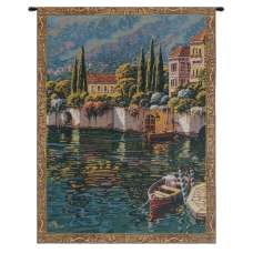Varenna Reflections Mini Belgian Tapestry Wall Hanging