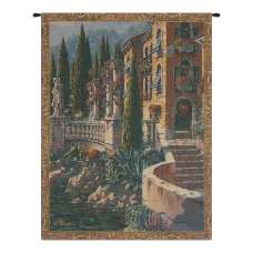 Morning Reflections Mini Belgian Tapestry Wall Hanging
