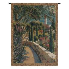 Varenna Vista Mini Belgian Tapestry Wall Hanging