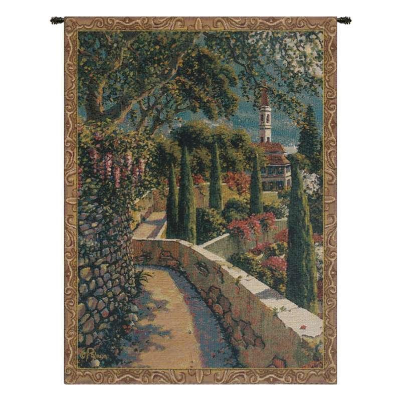 Varenna Vista Mini Belgian Tapestry Wall Hanging
