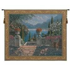 Italian Terrace Belgian Tapestry Wall Hanging