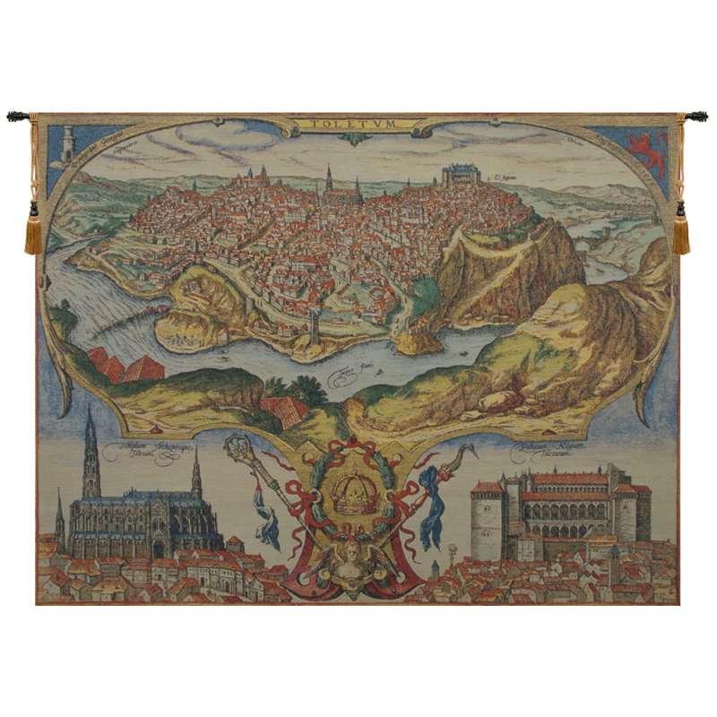 Toledo Belgian Tapestry Wall Hanging