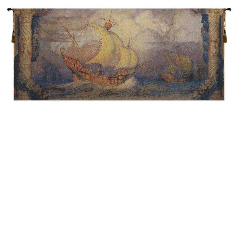 Caravelle Belgian Tapestry Wall Hanging