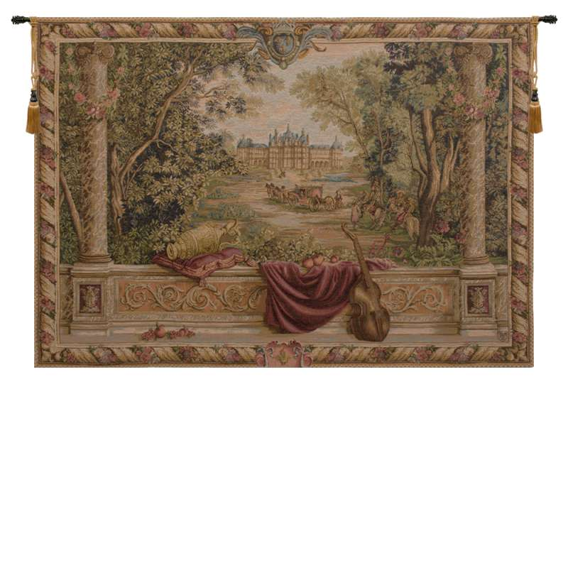 Verdure Au Chateau II French Tapestry