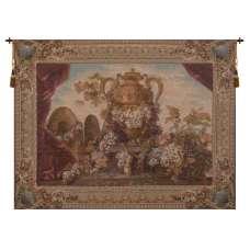 Vase and Raisins French Tapestry
