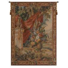 Bouquet Au Drape I French Tapestry