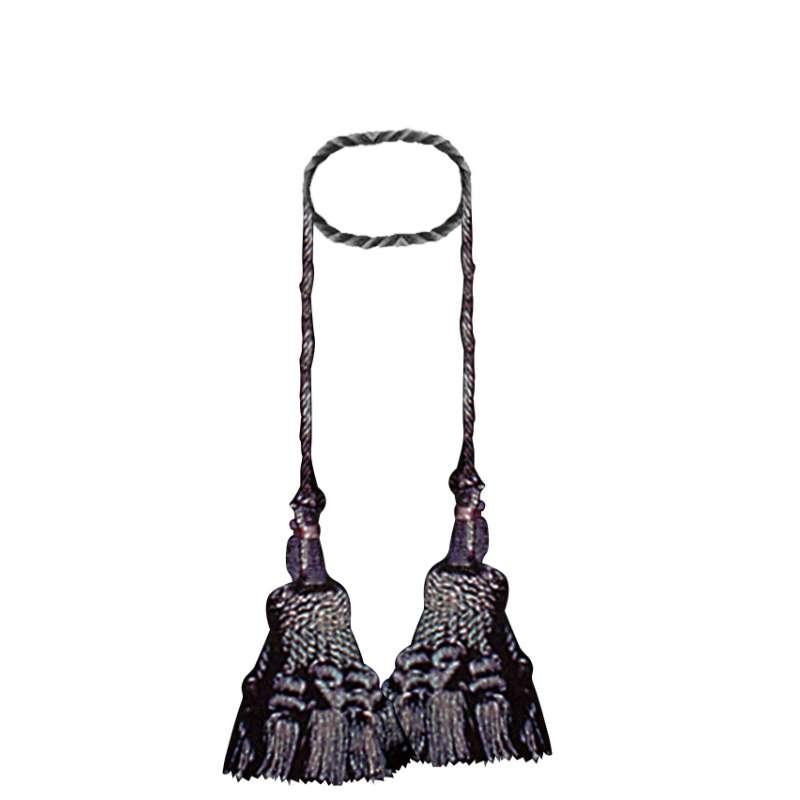 Deco- Black Tapestry  Decorative Tassels