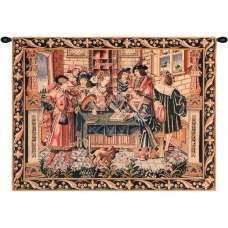 The Accountant French Tapestry
