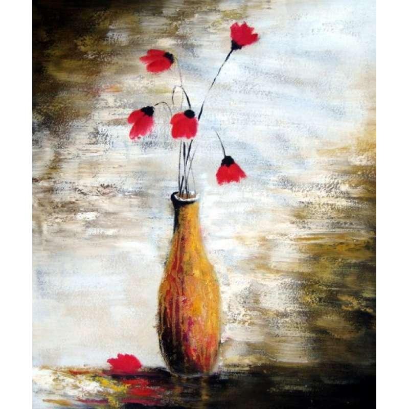 Fallen Petals Canvas Oil Painting