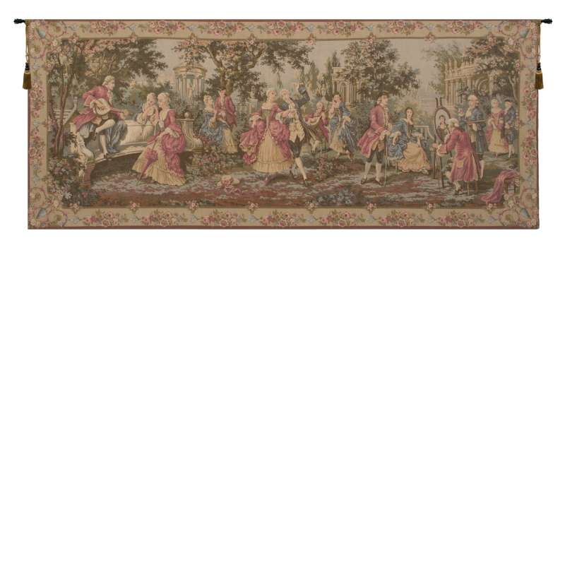 Society in the Park European Tapestry Wall Hanging