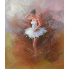 Ballerina Canvas Oil Painting