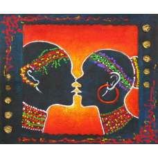 Kiss Canvas Oil Painting