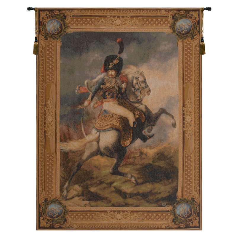 Cavalier de la Garde Imperiale French Tapestry