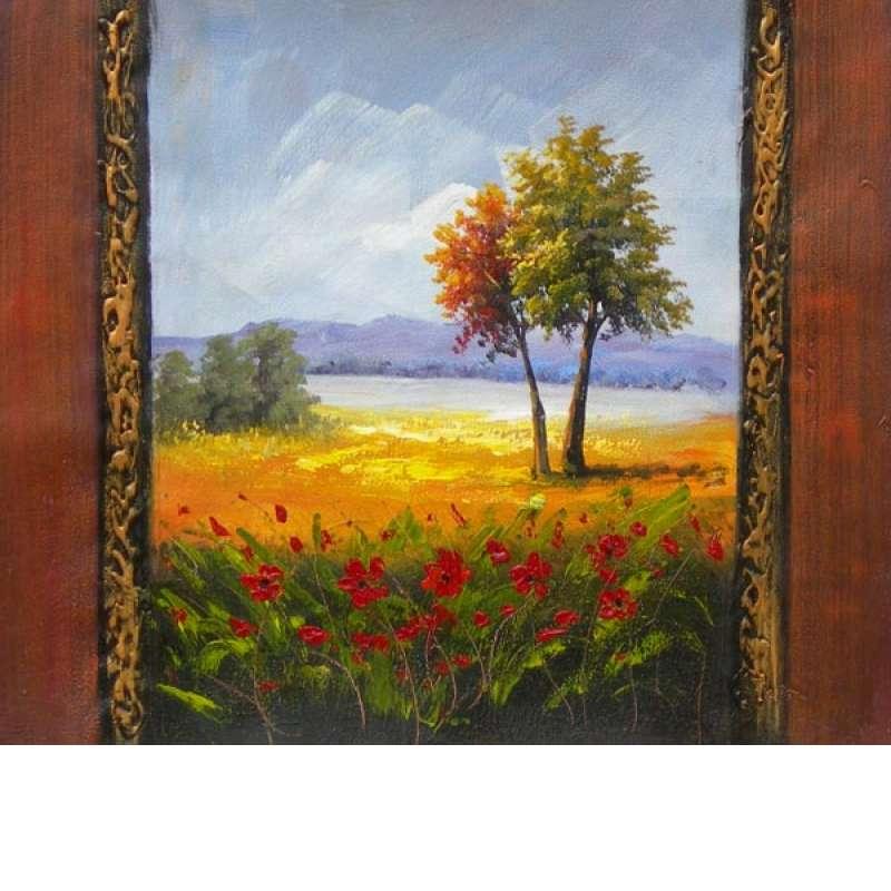 Late Summer Splendor Canvas Wall Art