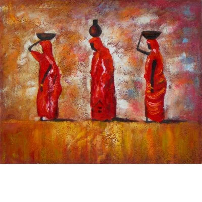 Burden of Balance Canvas Oil Painting