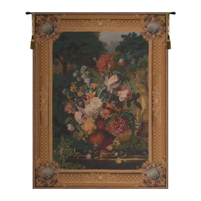 Grand Bouquet Flamand French Tapestry Wall Hanging