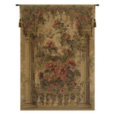 Rose Balcony European Tapestry