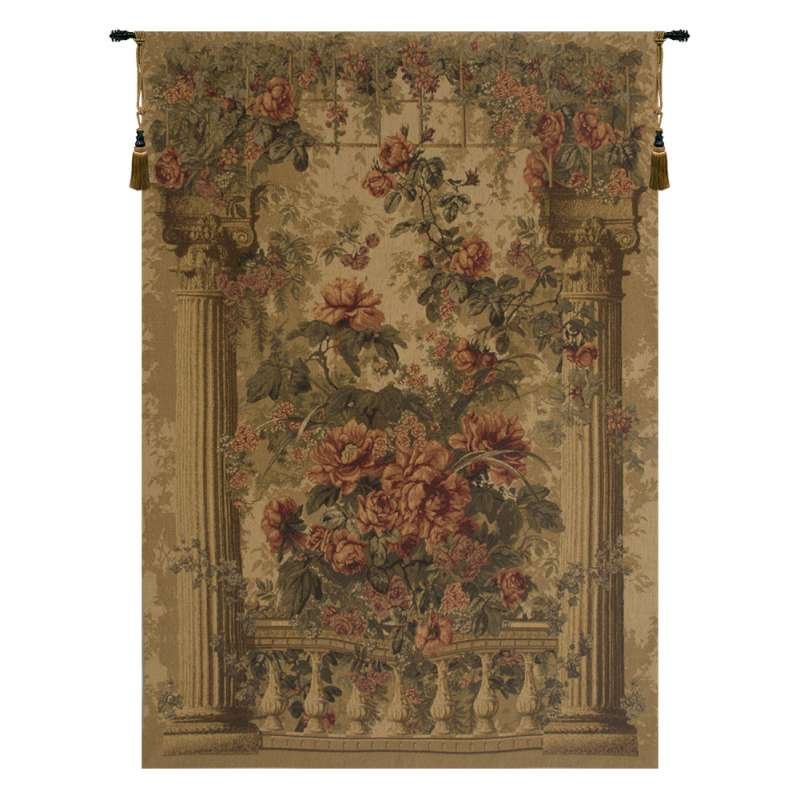 Rose Balcony European Tapestry