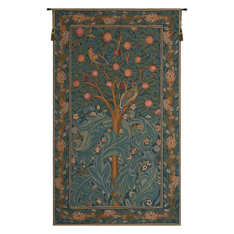 Woodpecker without Verse French Tapestry