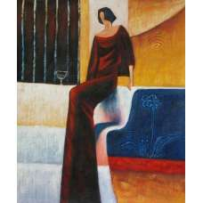 Lady of the Afternoon Canvas Oil Painting