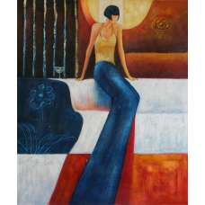 Temptress Canvas Oil Painting