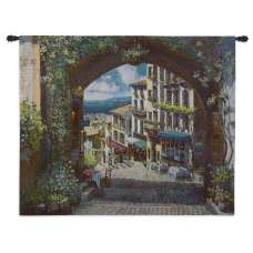 Arch de Cagnes Tapestry Wall Hanging