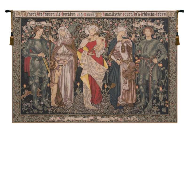 Women's Worth European Tapestry
