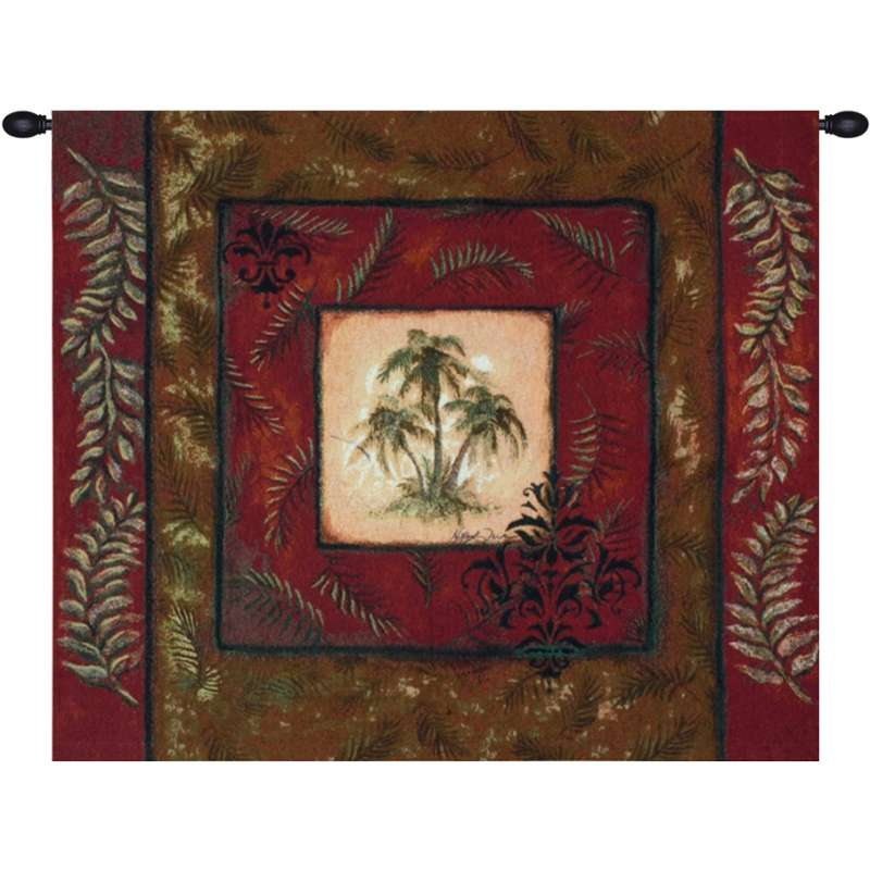 Palm Breeze Fine Art Tapestry