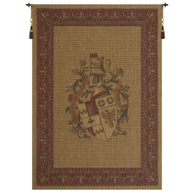 Unicorn Crest European Tapestry