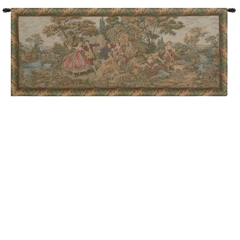 Scenes Galantes Italian Tapestry