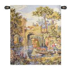 Ponte Old Bridge Italian Tapestry Wall Hanging