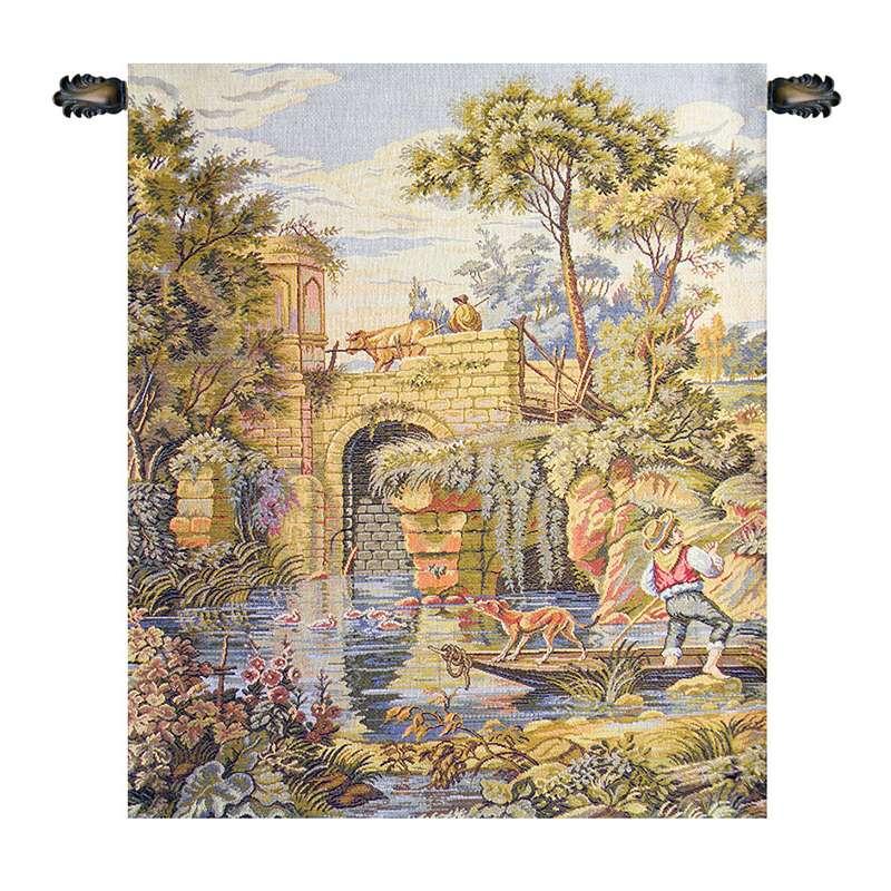 Ponte Old Bridge Italian Tapestry Wall Hanging