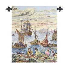 Barconi Italian Tapestry Wall Hanging