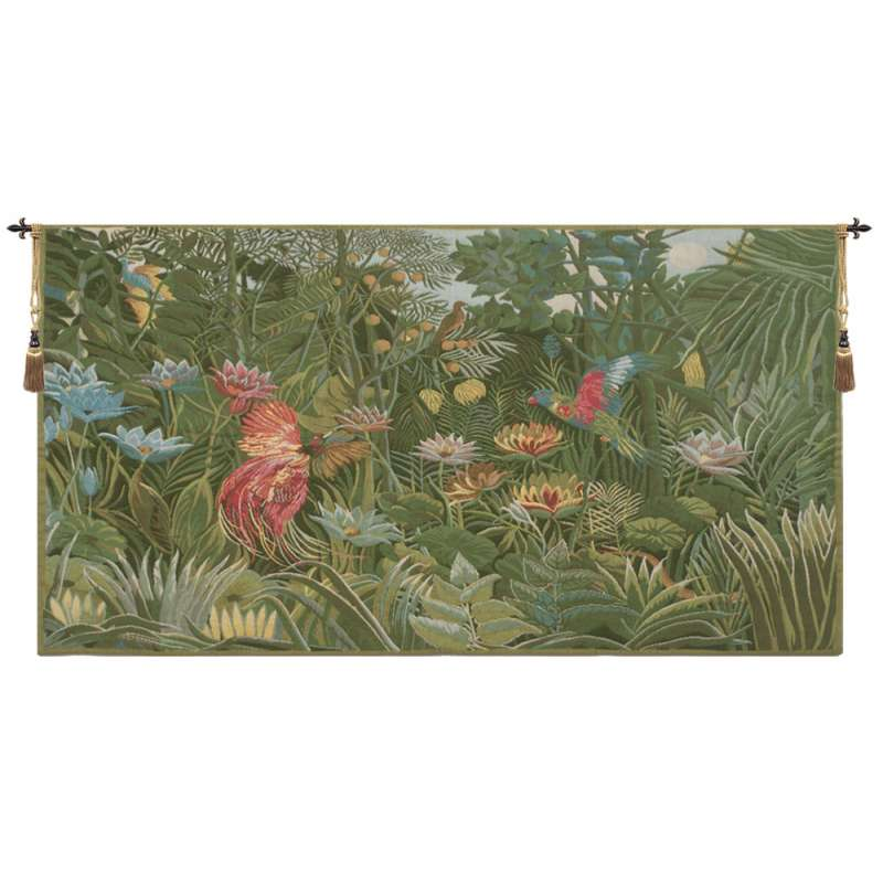 Tropical Enchantment European Tapestry