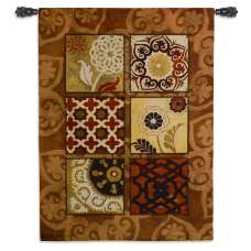 Suzani Spice Tapestry Wall Hanging