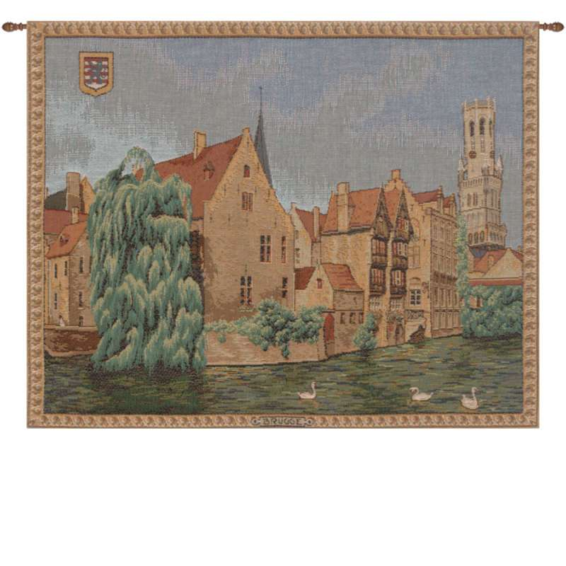Brugges Riverside French Tapestry