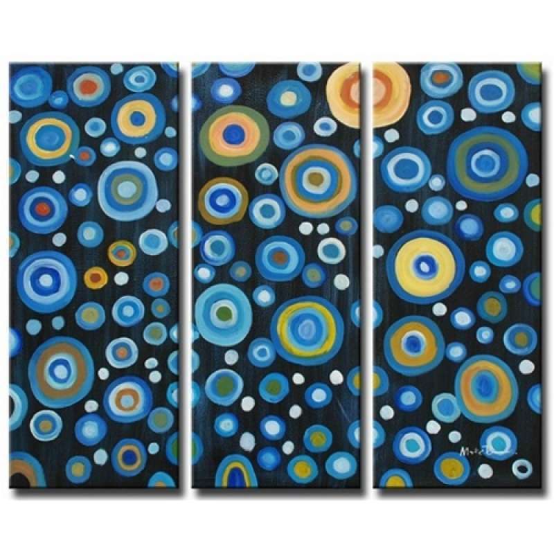 Circles of Abundance Canvas Art