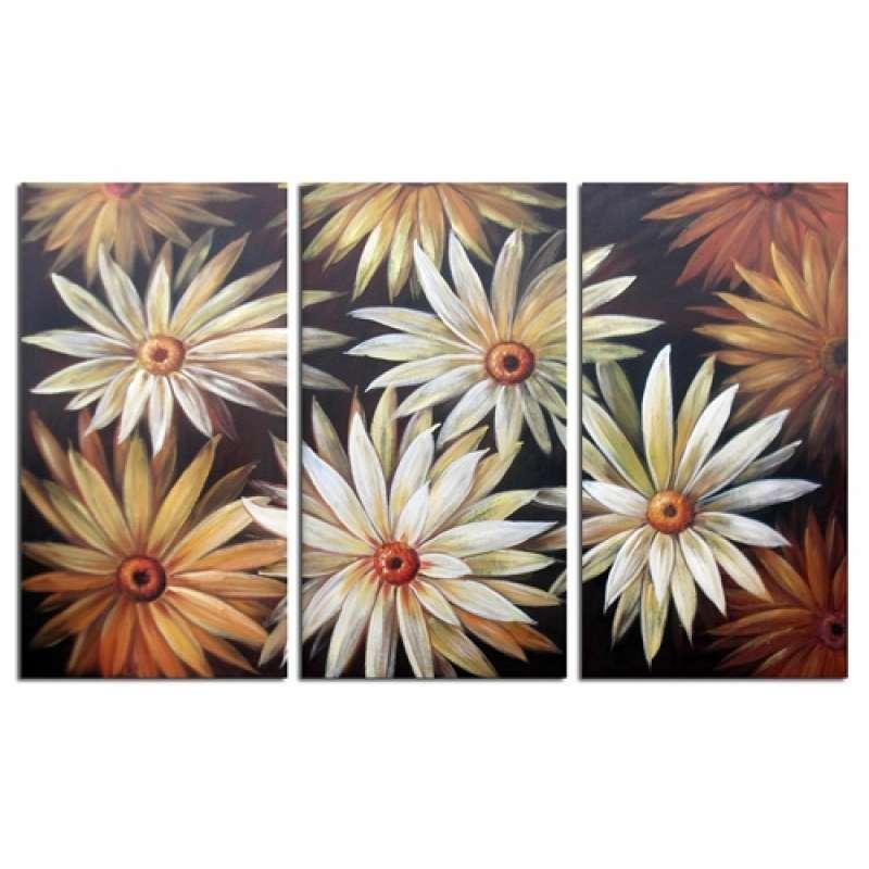 Daisy Patch Canvas Art
