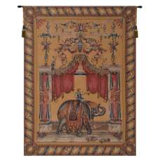 Grotesque Elephant French Tapestry