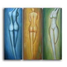 Feminine Forms Canvas Art