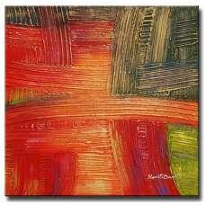 Color Weave Canvas Art