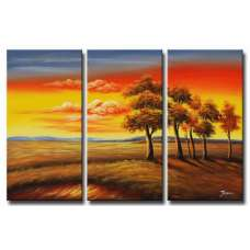 Transitions at Sundown Canvas Art
