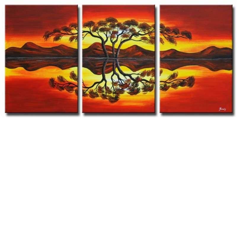 Highwater Mirror Canvas Art