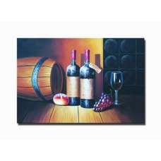 Wine Cellar I Canvas Art