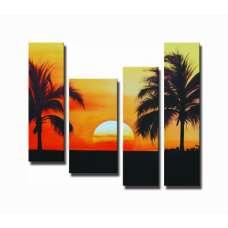 Superb Sunset Canvas Art